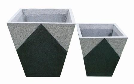Granit krukker og lamper   audebo havecenter