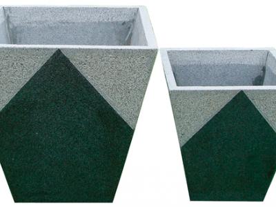 Granit krukker og lamper