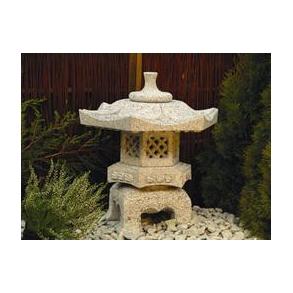 Japanske lygter i granit
